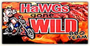 HaWGs gone WILD BBQ TEAM Logo